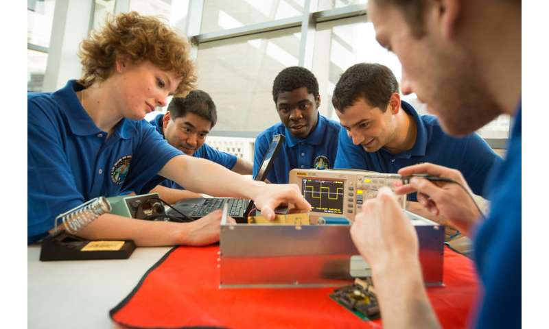 Students to build a third space debris observation satellite