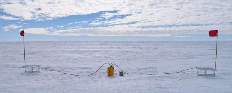 Study finds high melt rates on Antarctica's most stable ice shelf