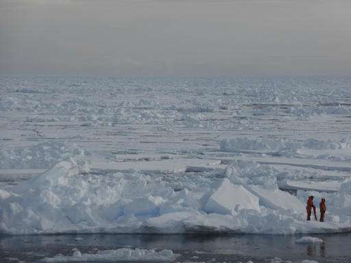 Study links human actions to specific Arctic sea ice melt