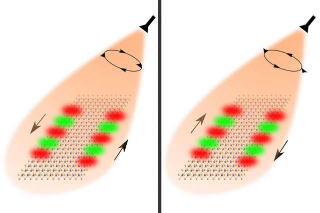 Study points the way to new photonic devices with one-way traffic lanes