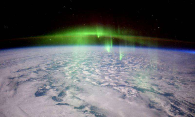 Stunning auroras from the space station in ultra HD