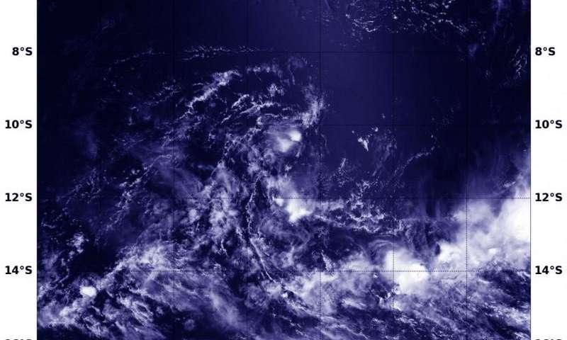 Suomi NPP satellite spots ex-Tropical Cyclone Emeraude's remnants