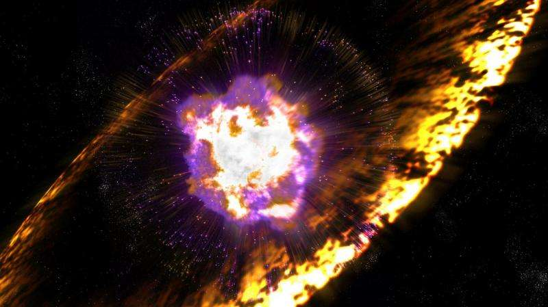 Supernovae showered Earth with radioactive debris