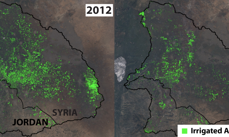 Syrian crisis altered region's land and water resources, Stanford study finds