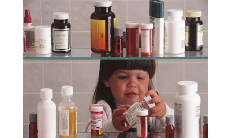 Take precautions to prevent child poisonings