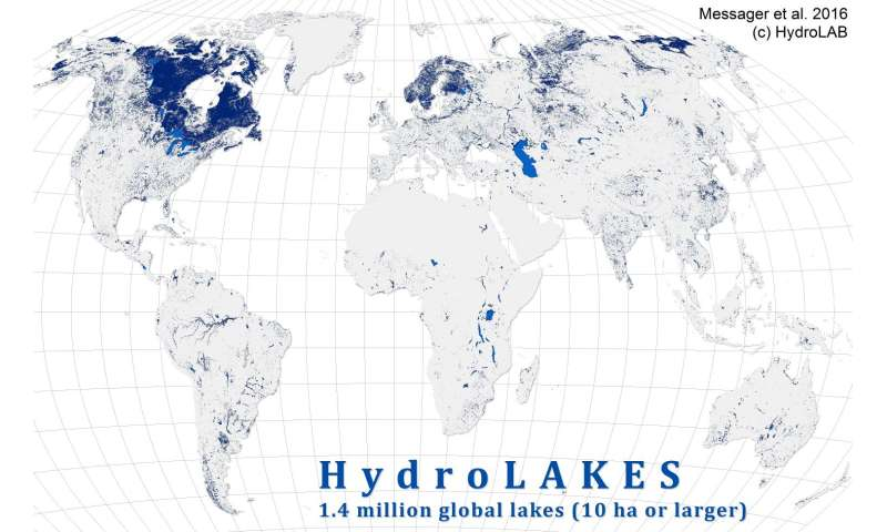 Taking stock of the world's lakes