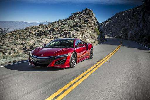 Tech on wheels: Acura NSX returns as gas-electric hybrid