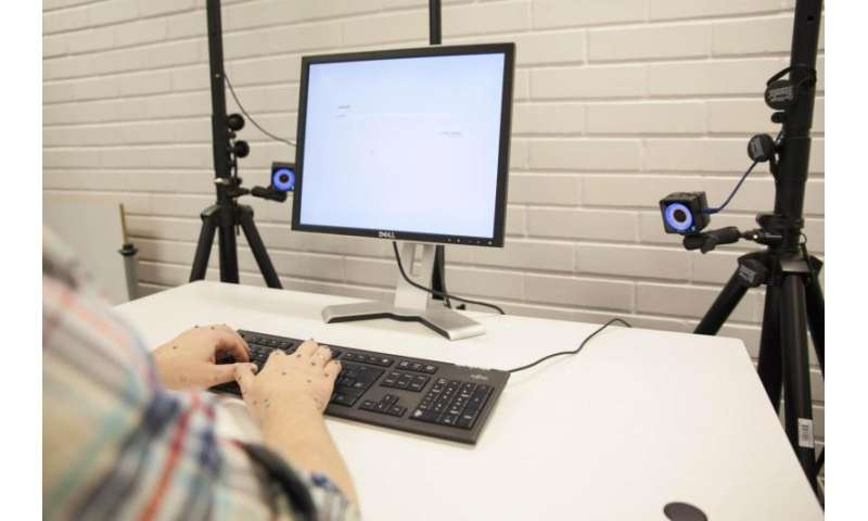 61fda9b98c2 ... cameras track the exact position of the hands and fingers while typing.  Eye-tracking glasses reveal the eye movements between the screen and  keyboard.