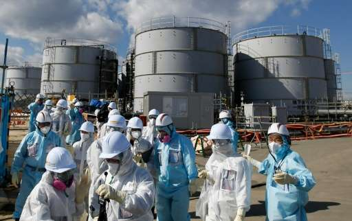 TEPCO opened up the Fukushima nuclear facility to members of the media on February 10, 2016