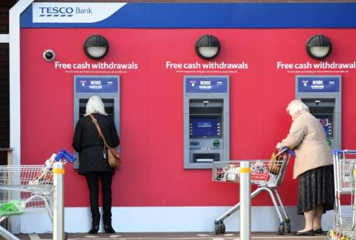 Tesco Bank confirmed 40,000 account holders had seen suspicious transactions over the weekend, while money had been fraudulently