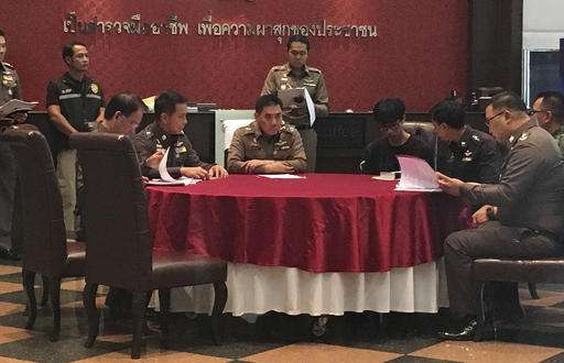 Thai police charge man in hacking attacks on gov't sites