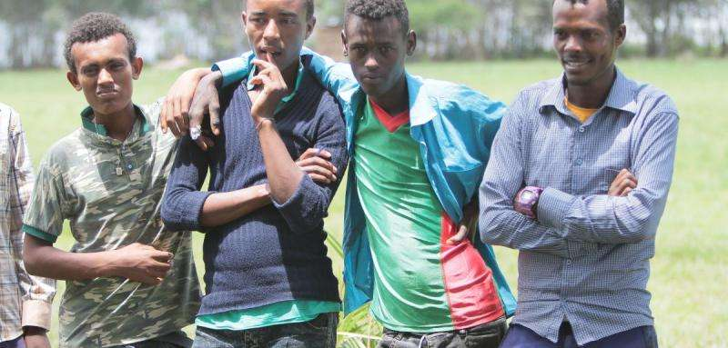 The economy's improving but many Ethiopian boys still 'feel hopeless'