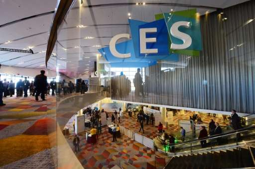 The first day of the CES 2016 Consumer Electronics Show in Las Vegas, Nevada on January 6, 2016