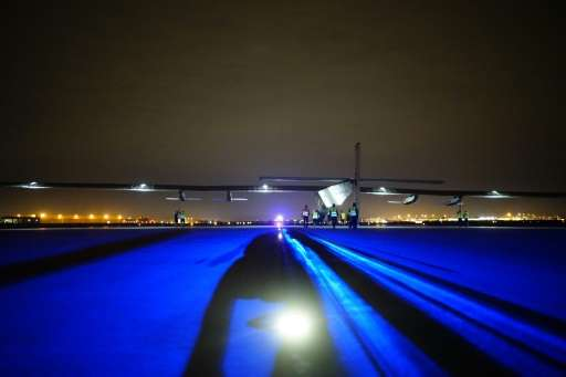 The flight to Dayton was the 12th leg of Solar Impulse's projected 16-leg east-west circumnavigation