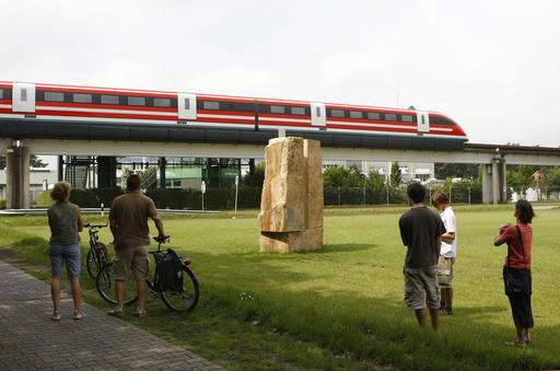 The future's for sale: Germany auctions maglev train