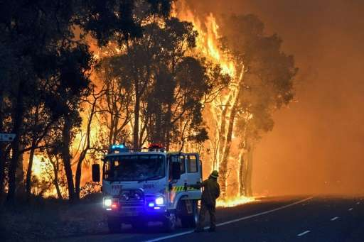 The inferno has razed about 71,000 hectares in Western Australia and is the most recent in a series of bushfires this summer