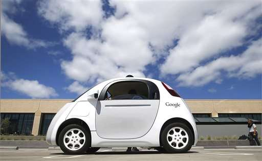 The Latest: California hearing begins on self-driving cars