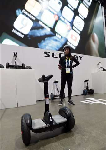 The latest in gadgets: Segway's new scooter may scoot to you
