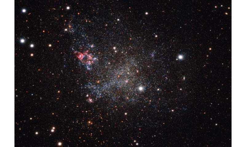 The Milky Way's clean and tidy galactic neighbor