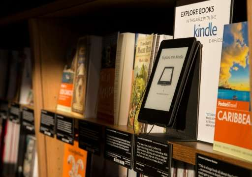 The new Amazon Kindle weighs in at 161 grams, or 5.7 ounces, with a six-inch display