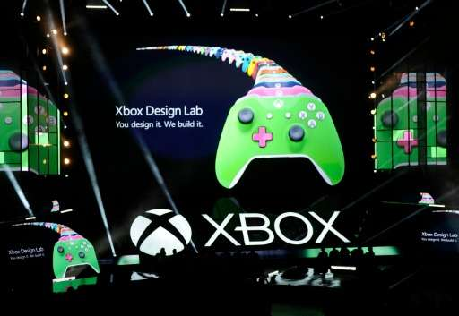 The new Microsoft Xbox One S console is announced during the Microsoft Xbox news conference on June 13, 2016 in Los Angeles, Cal