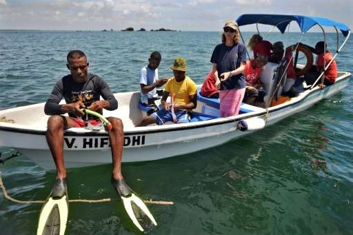 The reef ranger programme is aimed at helping fishermen manage their resources better, using a method akin to crop rotation to e