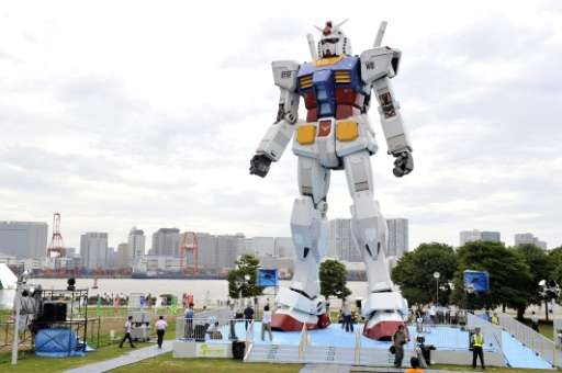 The robot olympics are coming to Japan in 2020, the same year that the eyes of the world will be on the summer games in Tokyo