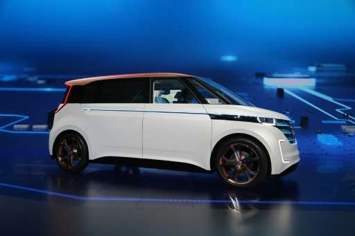 Volkswagen Launches BUDDe Smart Electric Revamp Of Minivan - Vw car show las vegas