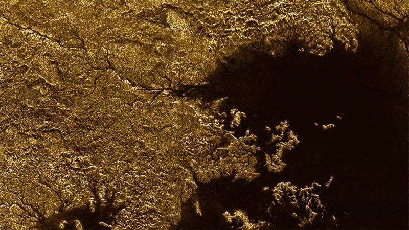 Titan's flooded canyons