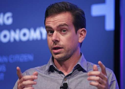 "Twitter Chairman Jack Dorsey, seen on September 17, 2013 in Detroit, Michigan, confirmed that some top managers ""have chose"