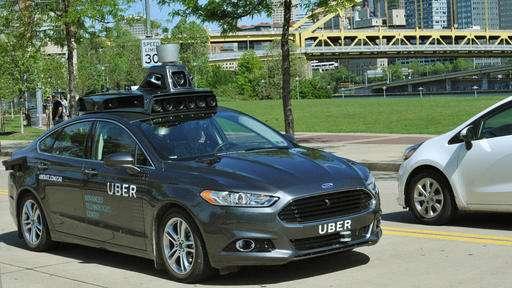 Uber testing self-driving car in Pittsburgh