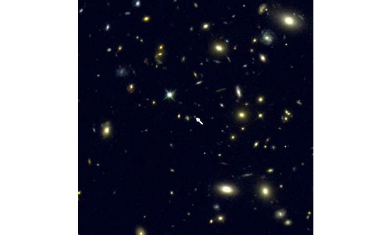 UCLA astronomers make first accurate measurement of oxygen in distant galaxy