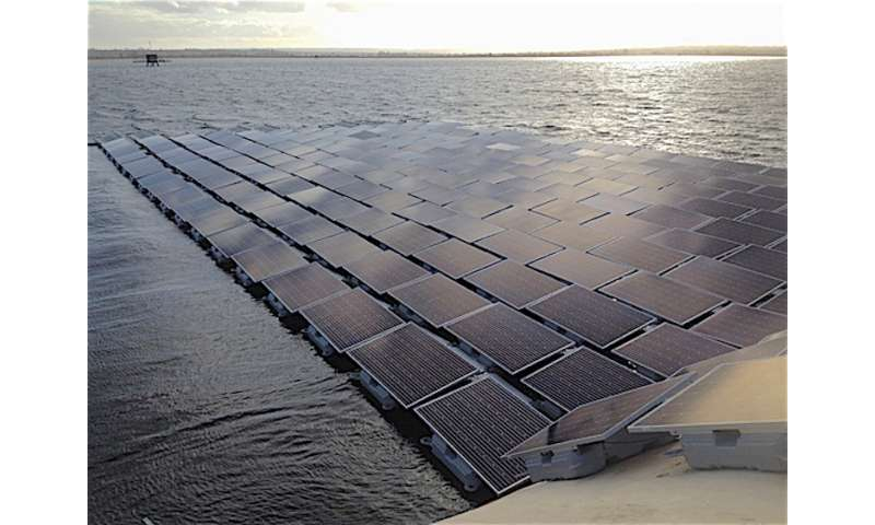 U.K. to unveil largest floating solar array in the world