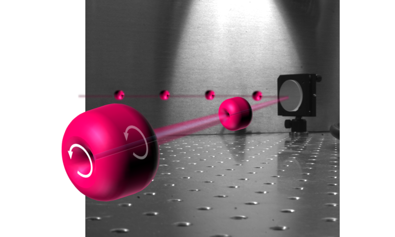 UMD physicists discover 'smoke rings' made of laser light