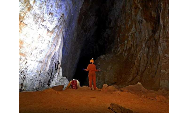 Underground astronauts preparing for space