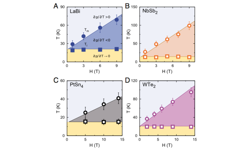 Underlying connection found between diverse materials with extreme magnetoresistance