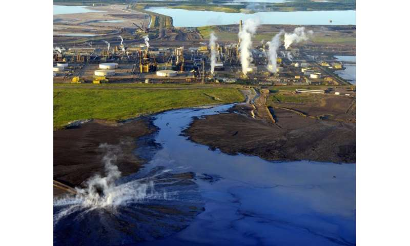 Unexamined risks from tar sands oil may threaten oceans