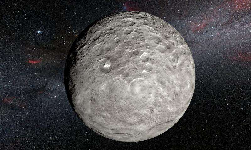 Unexpected changes of bright spots on Ceres discovered