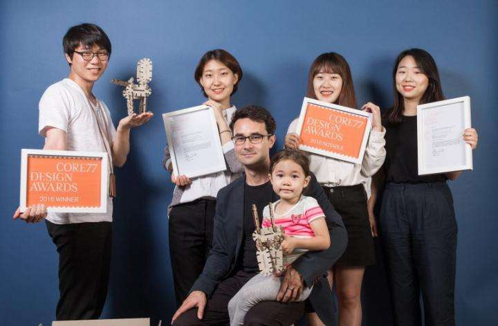 UNIST Design School wins international design awards