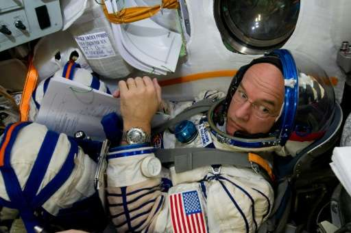 US astronaut Jeff Williams, who is married and has two adult sons, is scheduled to return to Earth in September