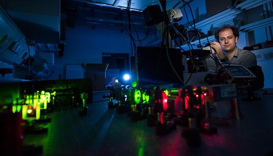 Using DNA-based nanotechnology to visualize nanoscale biological structures