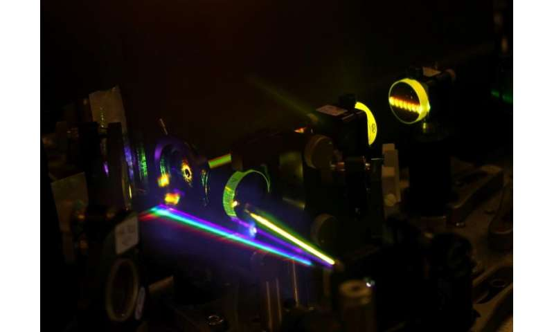 Using lasers to make data storage faster than ever