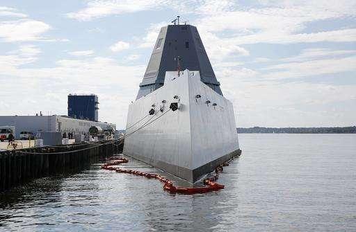 & US Navy gives look inside futuristic $4.4B Zumwalt destroyer