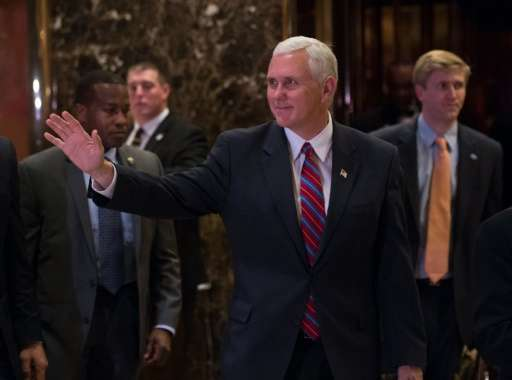 US vice president-elect, Mike Pence, is an ultraconservative and a creationist who has rejected Charles Darwin's theory of evolu