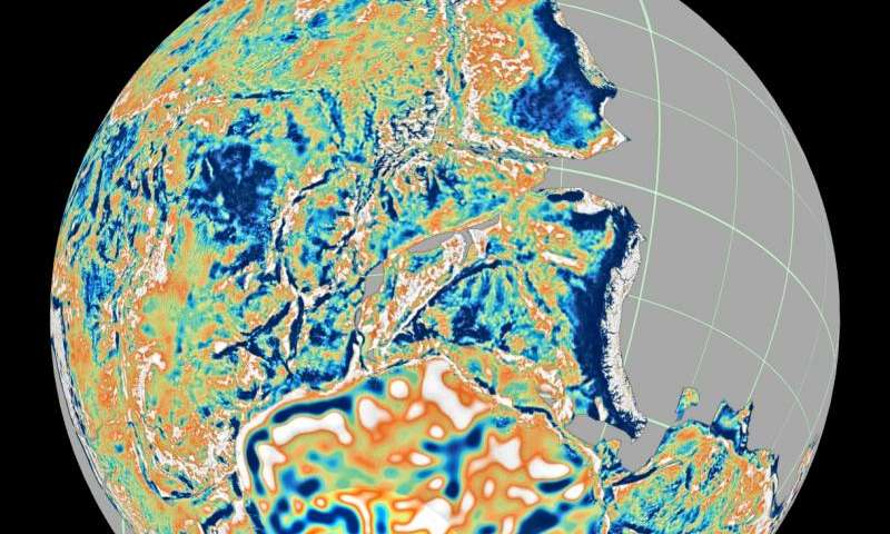 Virtual time machine of Earth's geology now in the cloud