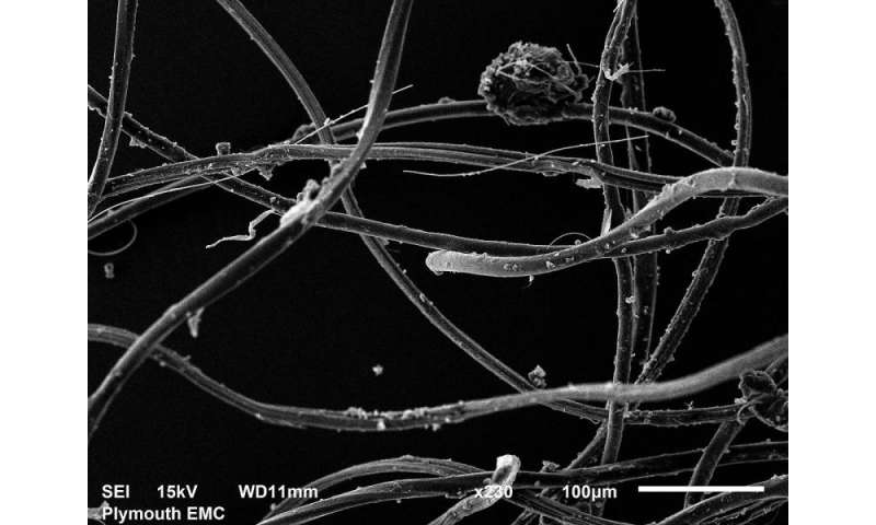 Washing clothes releases thousands of microplastic particles into environment, study shows