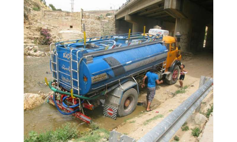 Water vulnerability threatens developing nations' stability, researchers find