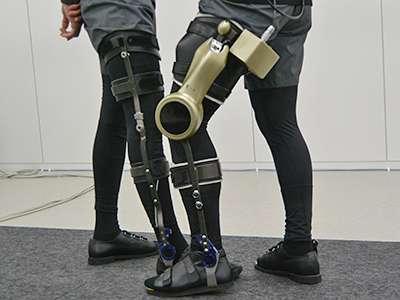 Wearable modular device to facilitate walking rehabilitation