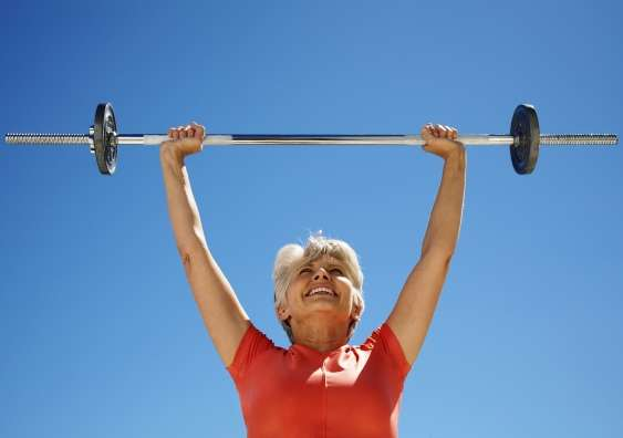 Weight-lifting can help over 55s improve brain function and muscle strength