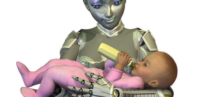 What's Mother's Day if you've been born in a machine and raised by robots?